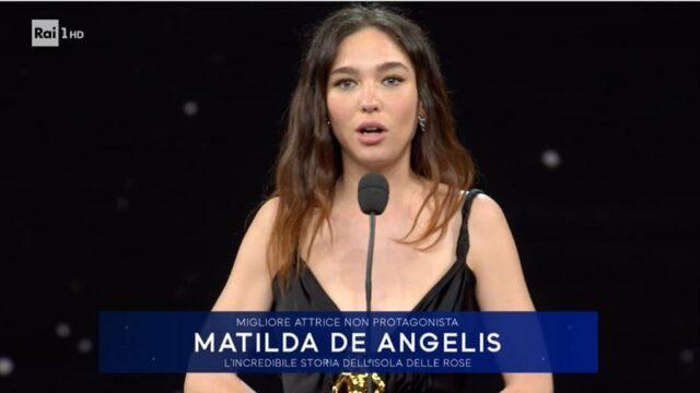 David di Donatello 2021 diretta 11 maggio Matilda De Angelis