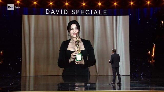 David di Donatello 2021 Monica Bellucci