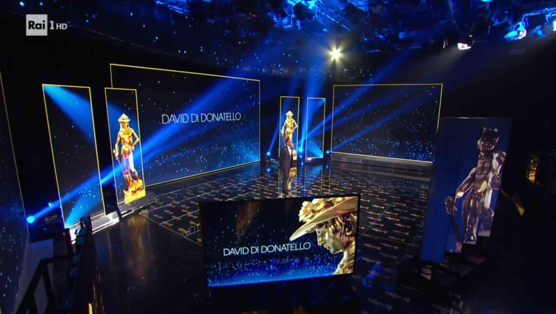 David di Donatello 2020 diretta 8 maggio