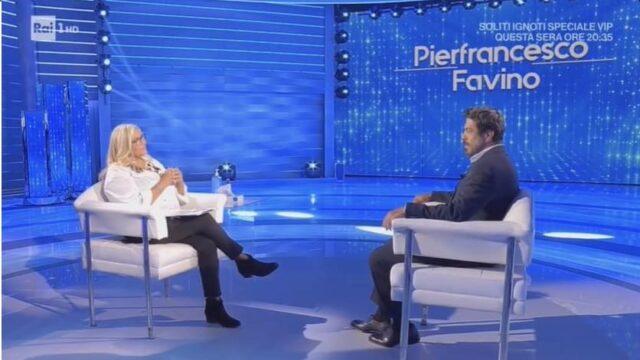 Domenica In ospiti 23 maggio Pierfrancesco Favino