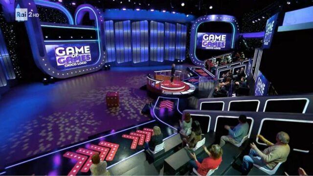 Game of games 25 maggio studio
