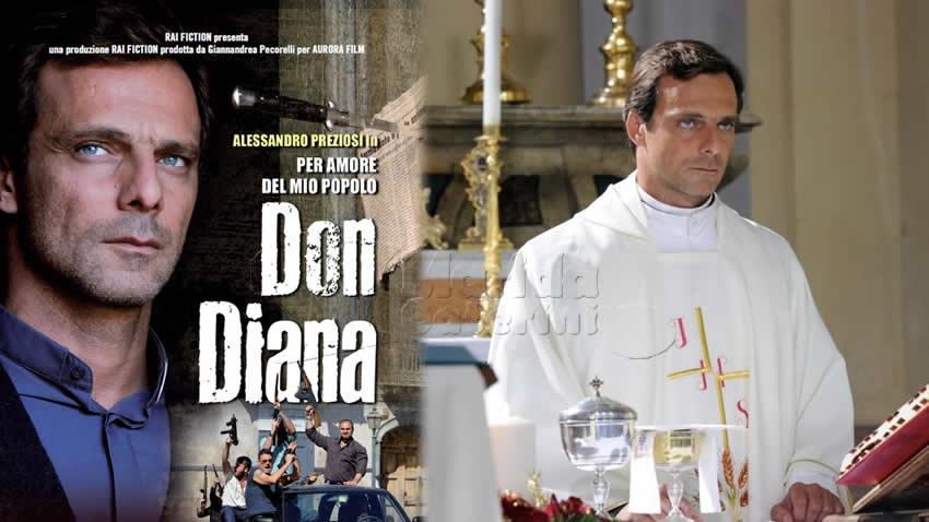 Per amore del mio popolo Don Diana film Rai 1