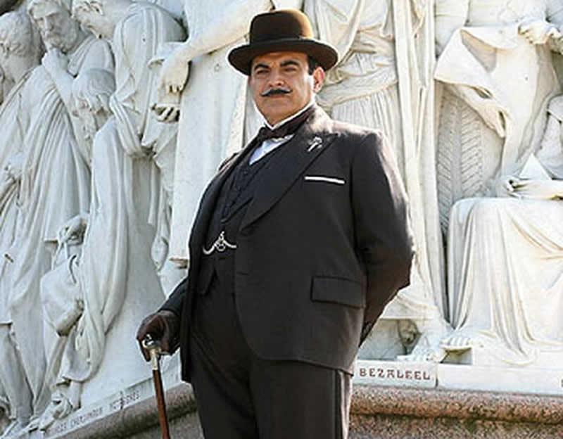 Poirot Carte in tavola film attori