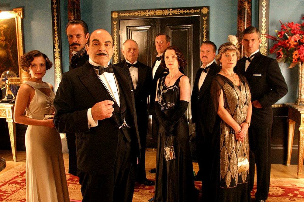 Poirot Carte in tavola film finale