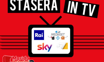 Stasera in tv sabato 15 maggio 2021