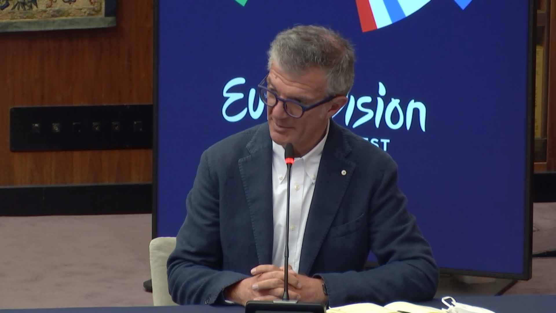Eurovision Song Contest 2021 conferenza stampa