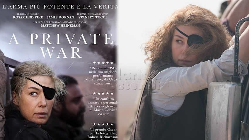 A Private War film Rai 3