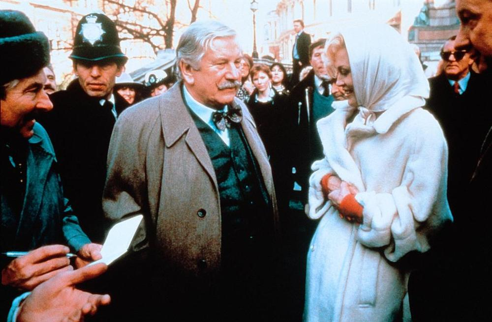Agatha Christie tredici a tavola film attori