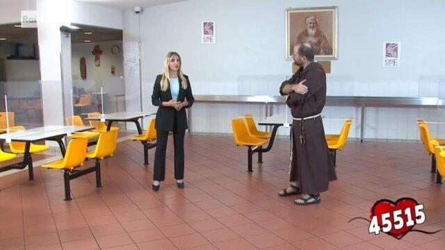 Carolina Rey e Fra Marcello