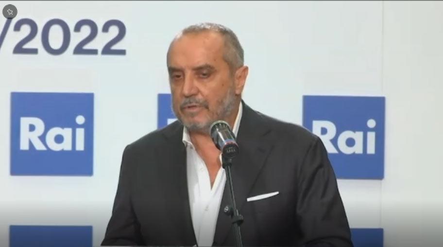 Palinsesti Rai 2021/2022 conferenza stampa