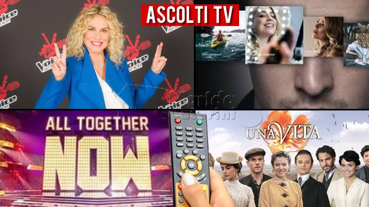Ascolti TV sabato 10 luglio 2021