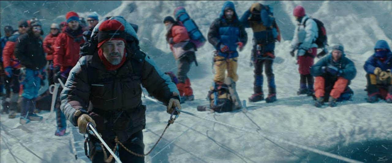 Everest film finale