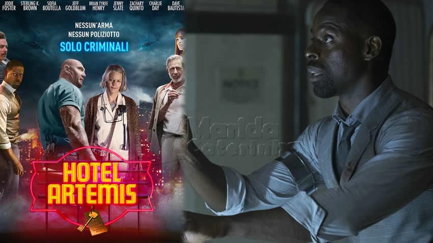 Hotel Artemis film Sky Cinema Action