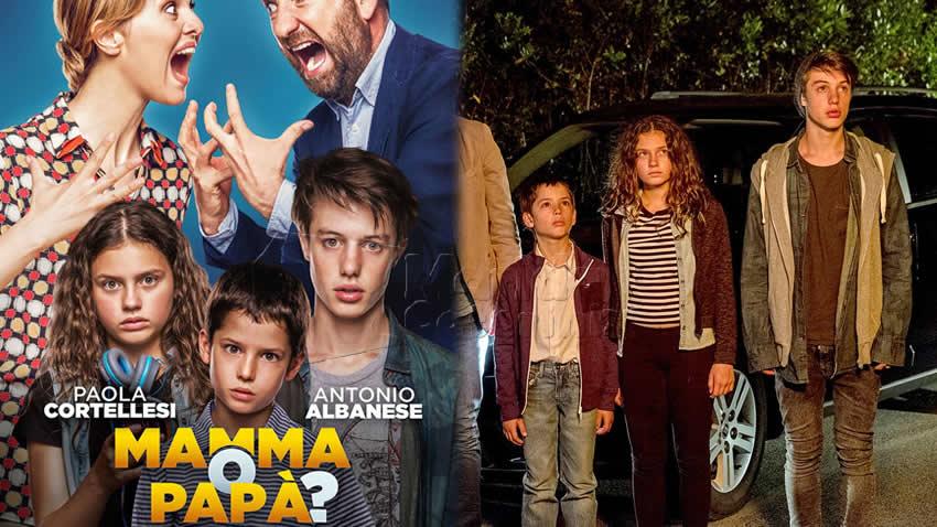 Mamma o papà film Canale 5