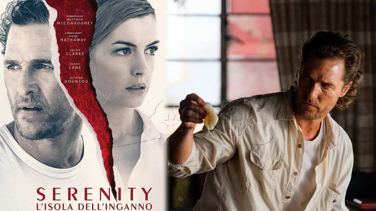 Serenity L'isola dell'inganno film Canale 5
