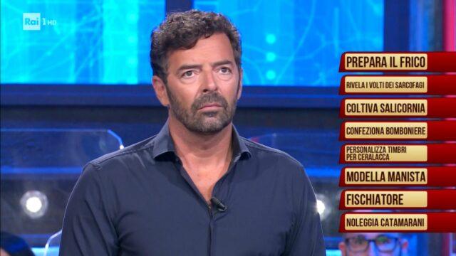Alberto Matano I soliti Ignoti