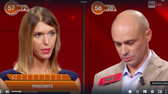 L'Eredità Rai 1 Anita Paolo