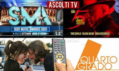 Ascolti TV venerdì 10 setembre 2021