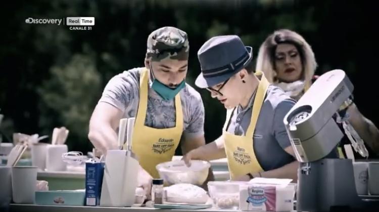 Bake Off Italia 9 puntata 10 settembre Marco e Edoardo