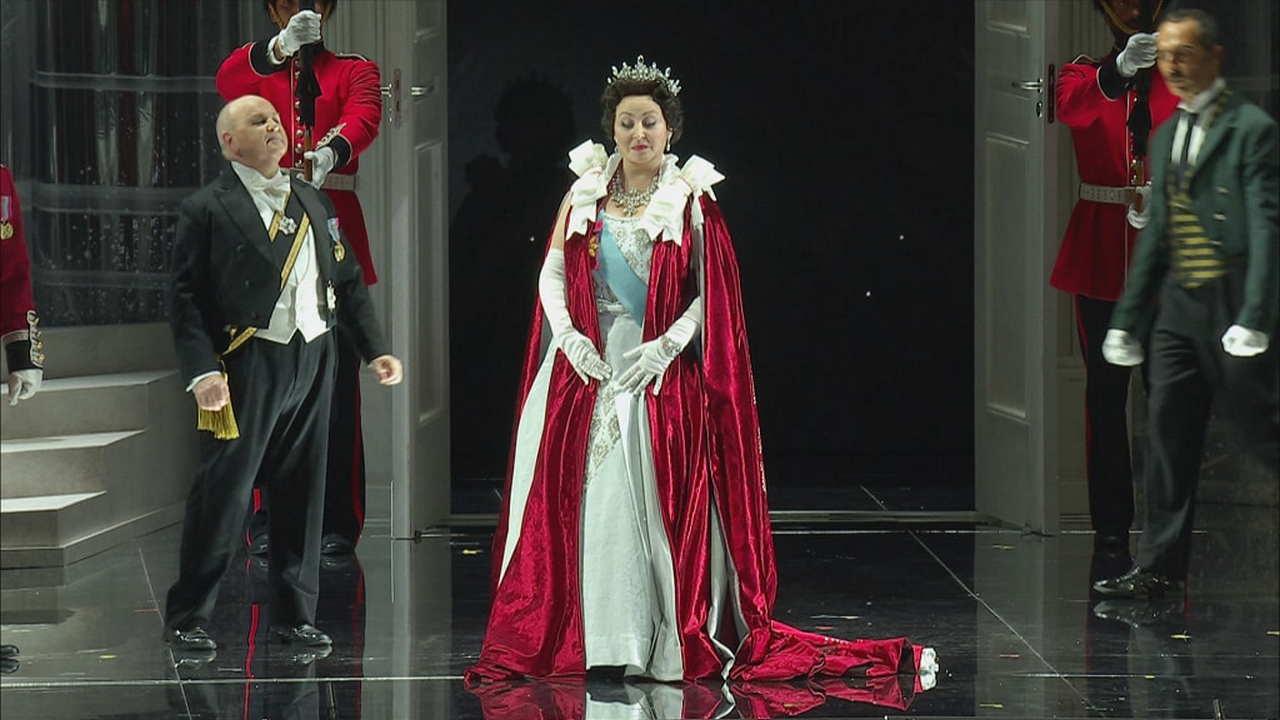 Elisabetta Regina d'Inghilterra Rai 5 libretto