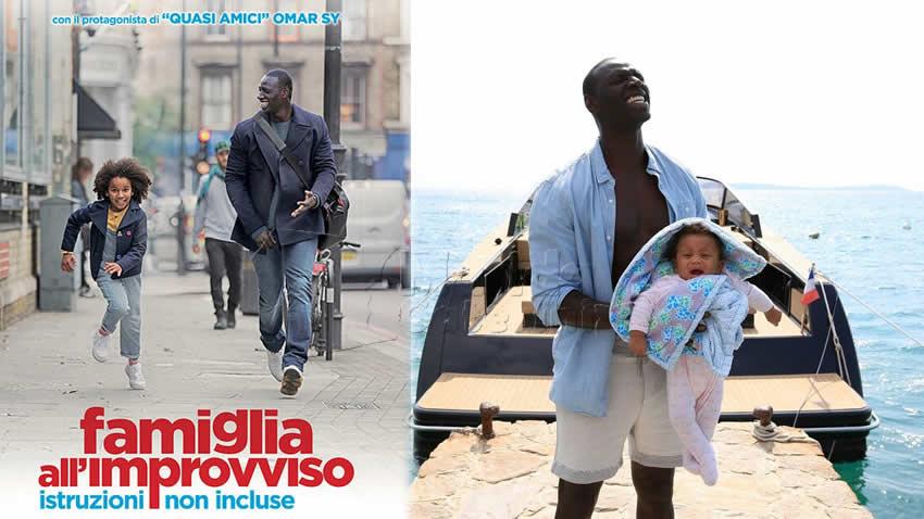 Famiglia all'improvviso film Canale 5
