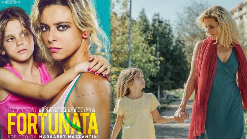 Fortunata film Canale 5
