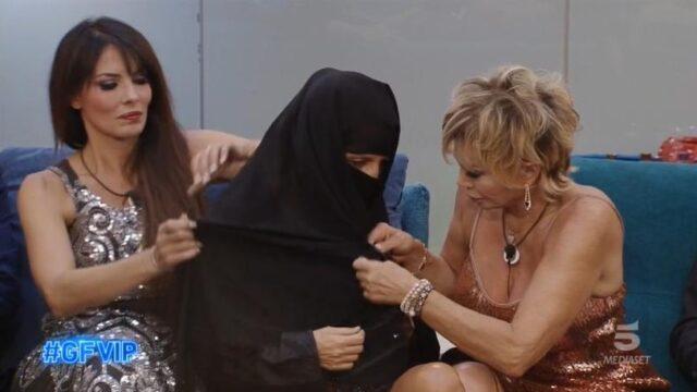 GF Vip 6 diretta 20 settembre jo squillo burka