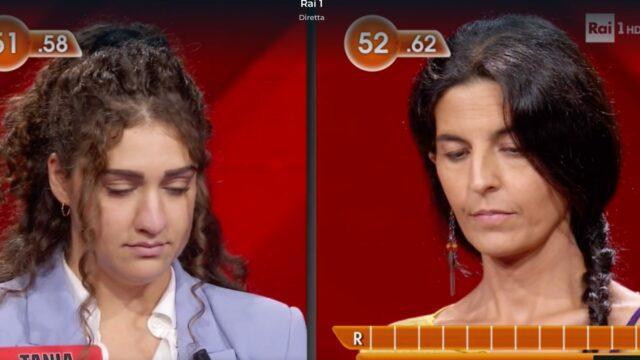 L'Eredità Rai 1 gioco Tania Paola