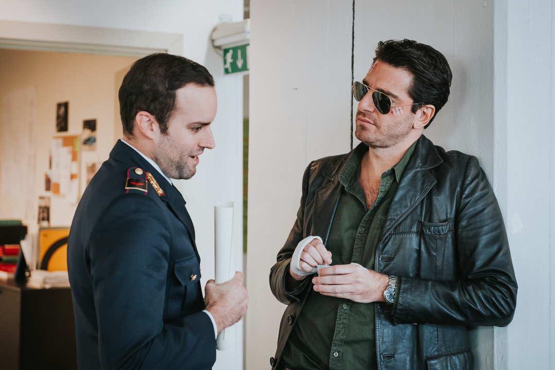 L'Ispettore Coliandro Intrigo maltese attori