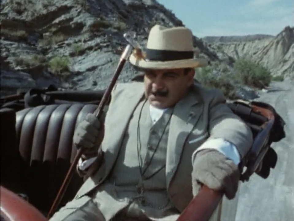 Poirot La maledizione della tomba egizia film attori