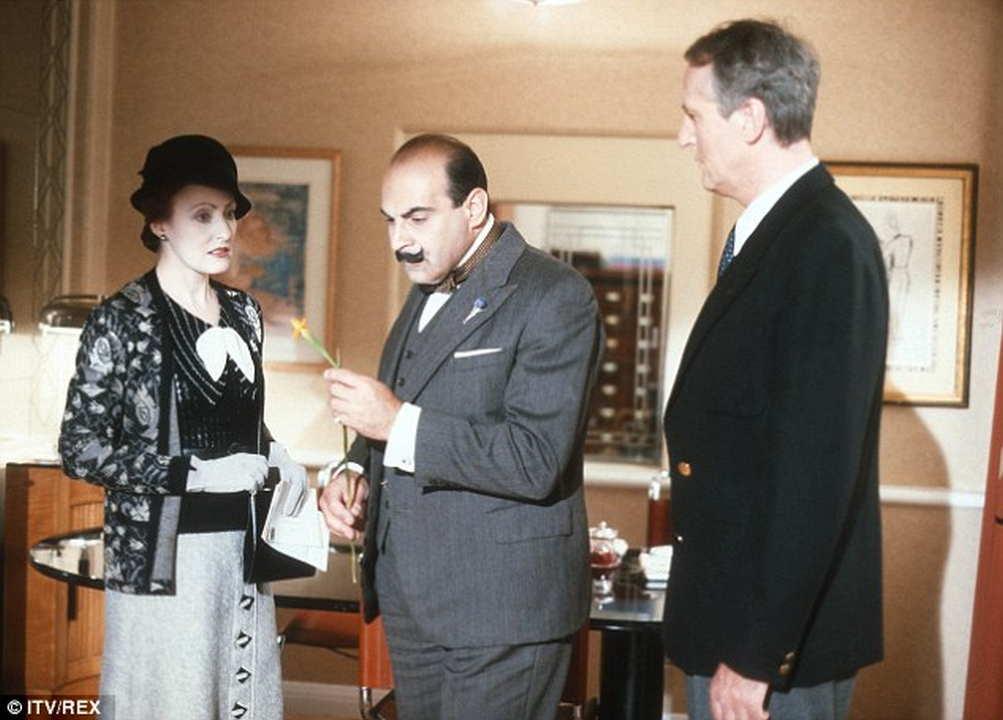 Poirot L'enigma dell'iris giallo attori