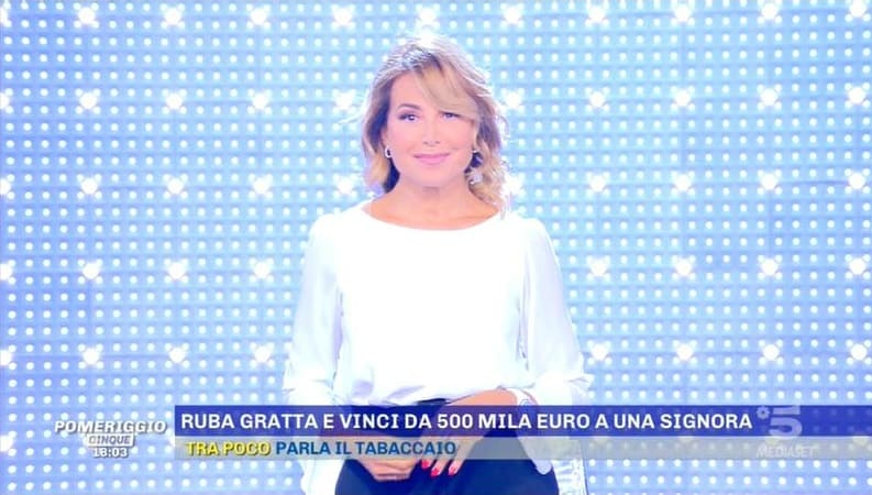 Pomeriggio Cinque 6 settembre Canale 5