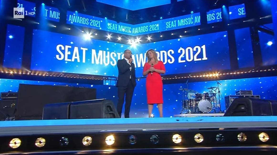 Seat Music Awards 2021 Rai 1 9 settembre