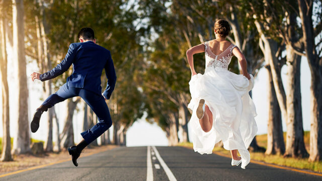 Sposi vincitori Quattro Matrimoni