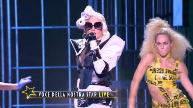 Star in the star 30 settembre lady gaga