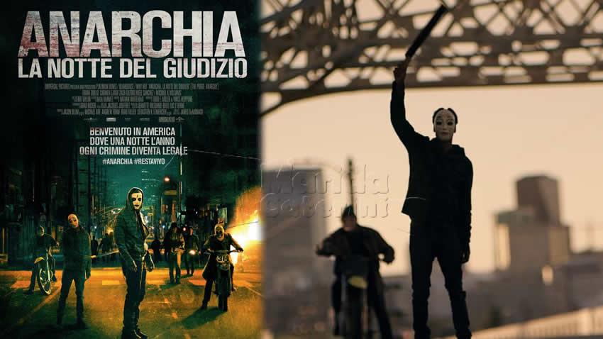 Anarchia La notte del giudizio film Mediaset Italia 2