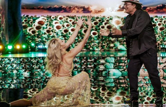 Ballando con le Stelle 16 ottobre Al Bano in pista