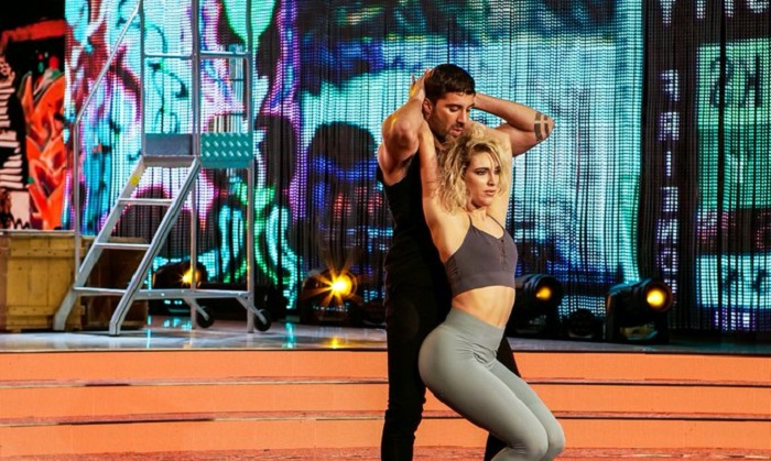 Ballando con le Stelle 23 ottobre Andrea Iannone e Lucrezia Lando