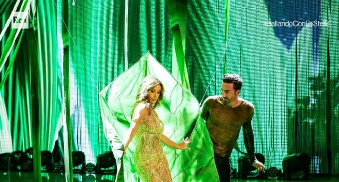 Ballando con le stelle 23 ottobre Sabrina Salerno e Samuel Peron