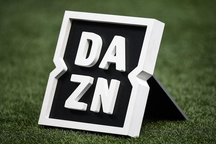 DAZN logo cover