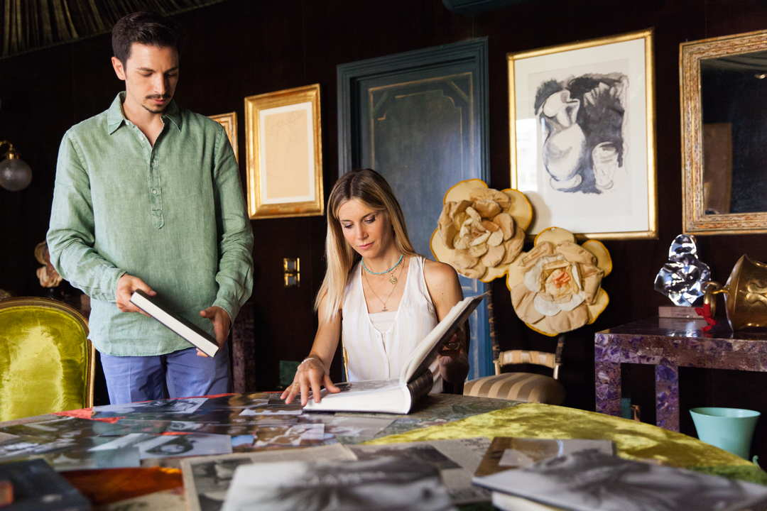 Illuminate Marta Marzotto storia