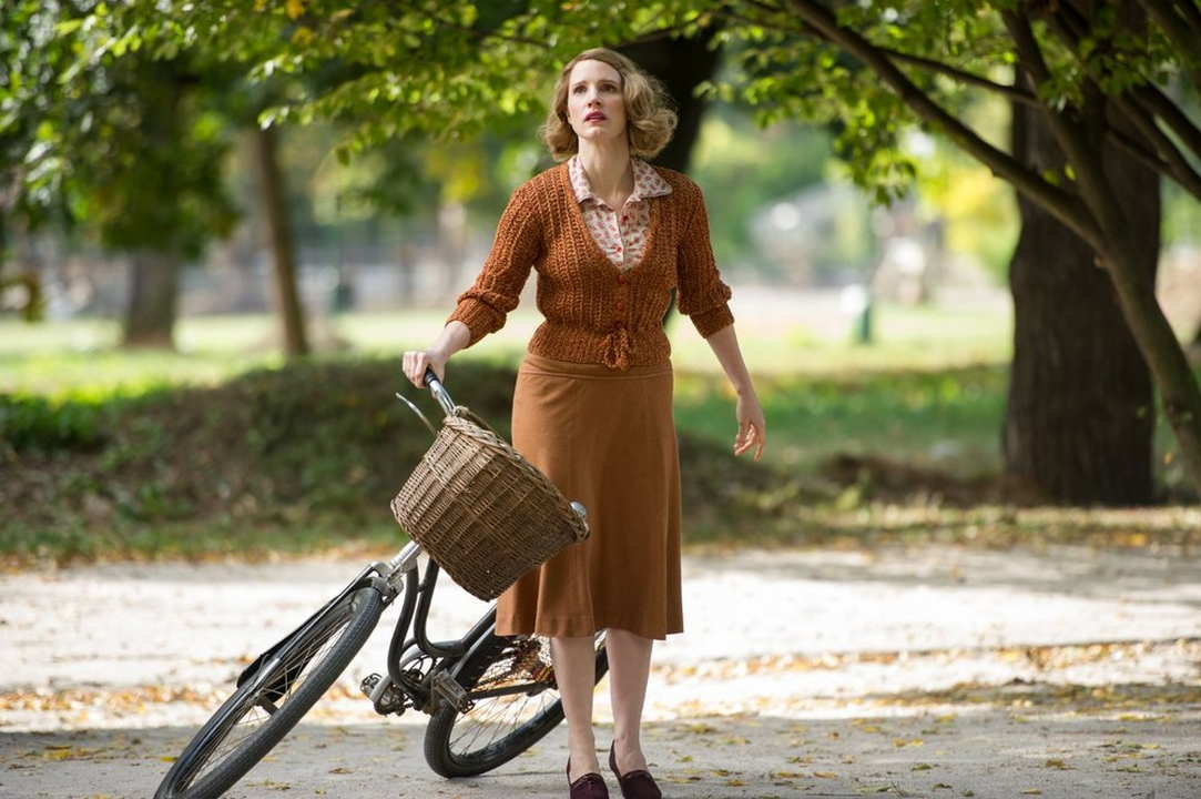 La signora dello zoo di Varsavia film attori