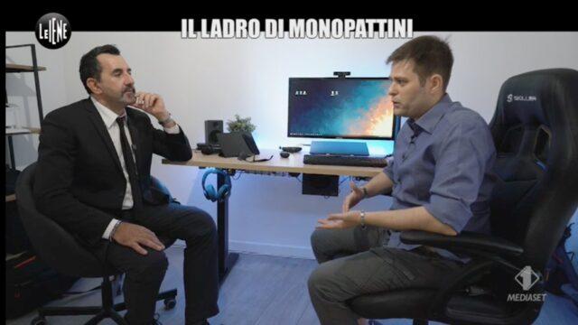 Le Iene Italia 1 Il ladro di monopattini