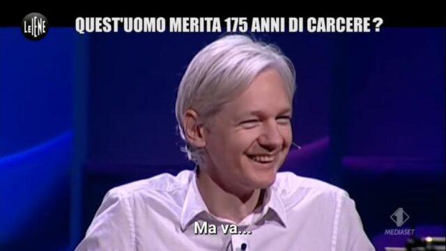 Le Iene Julian Assange