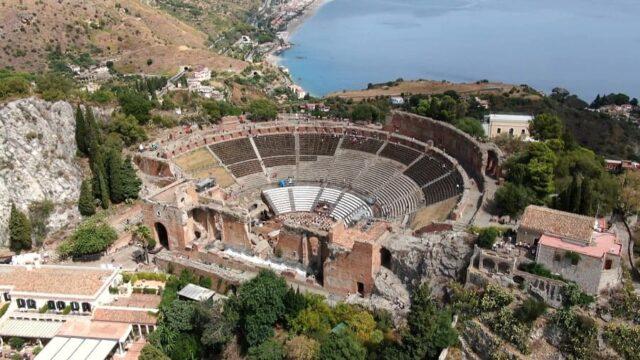Linea Blu 2 ottobre teatro antico taormina