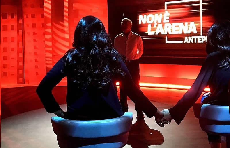 Non è l'Arena 6 ottobre 2021 racconto ragazze stupro Baia Sardinia