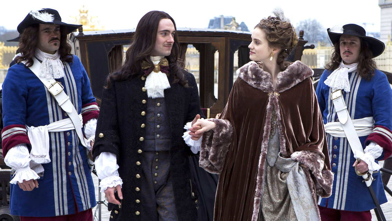 Versailles serie tv dove è girato