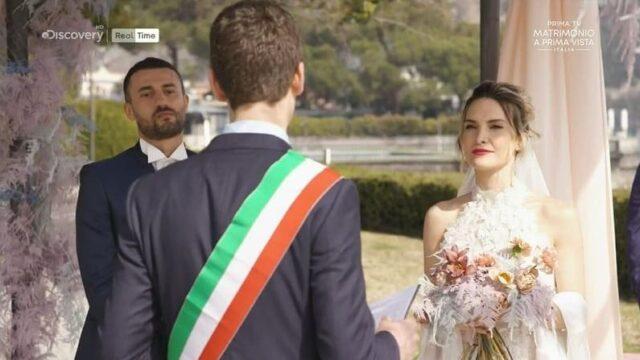 matrimonio a prima vista italia 7 diretta 5 ottobre nozze sergio jessica